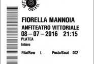 Biglietti-Mannoia