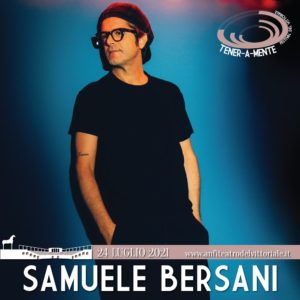 Samuele Bersani - Concerto Anfiteatro del Vittoriale