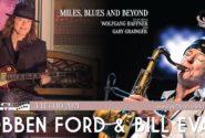 Locandina concerto Robben Ford & Bill Evans - Vittoriale degli Italiani