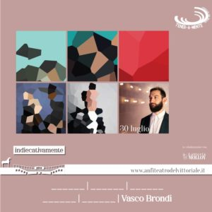 Vasco Brondi - Concerto Anfiteatro del Vittoriale
