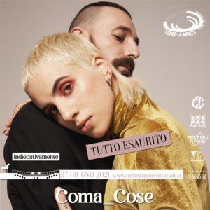 COMA_COSE - Concerto Anfiteatro del Vittoriale