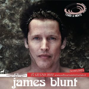 Concerto James Blunt rinviato