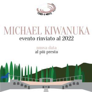 Rinvio concerto Michael Kiwanuka