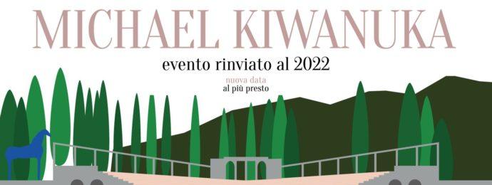 Rinvio concerto Michael Kiwanuka - Anfiteatro del Vittoriale