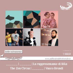 The Zen Circus al Vittoriale
